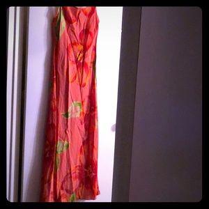 Moda Int'l Spaghetti Maxi Dress-Size2